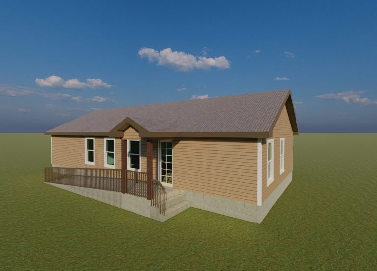 Case Management Building 3D Model Rendering A New Day